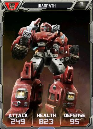 (Autobots) Warpath - Robot