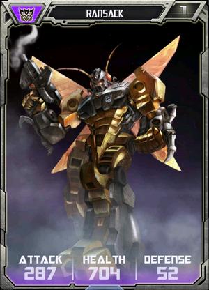 (Decepticons) Ransack - Robot