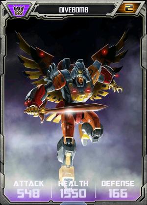 (Decepticons) Divebomb - Robot (2)