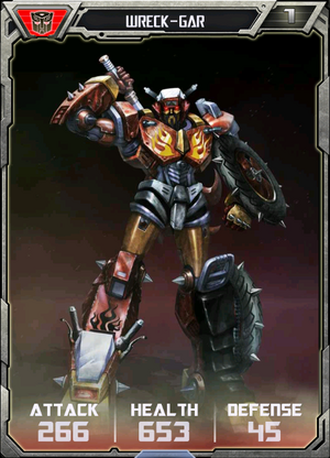 (Autobots) Wreck-Gar - Robot