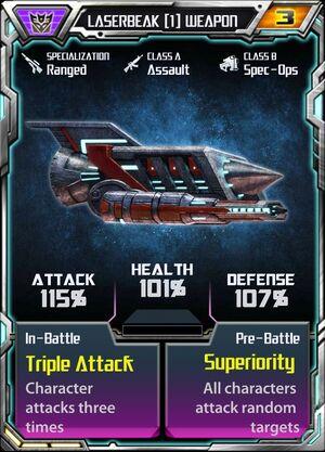 Laserbeak (1) Weapon