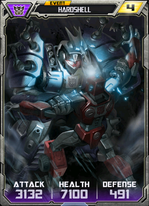(Decepticons) Hardshell - Robot (4) - Event