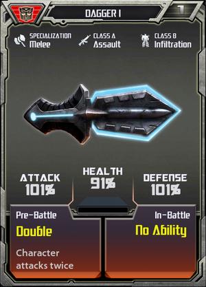 (Autobots) Dagger I