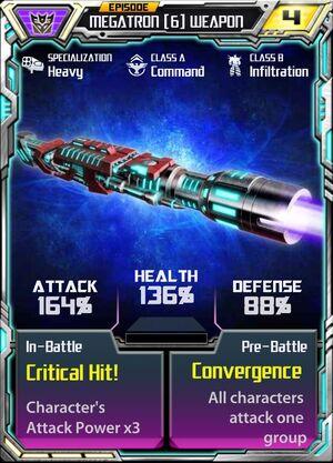 Megatron (6) Weapon