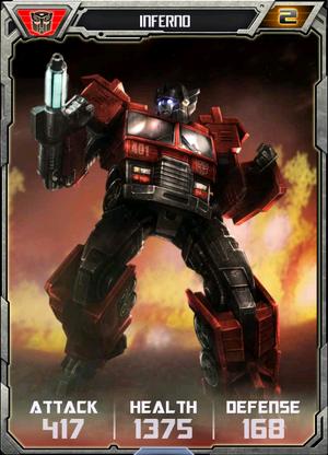 (Autobots) Inferno - Robot (2)