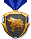 Gold Weapon Medals