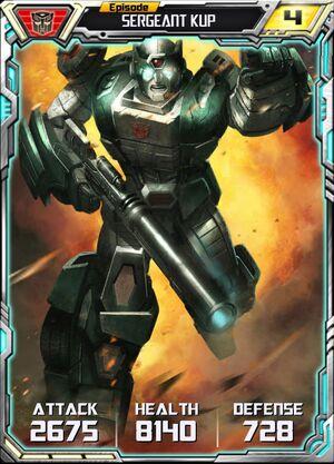 Sergeant Kup 2 Robot