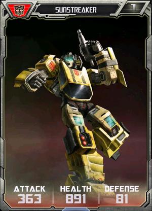 (Autobots) Sunstreaker - Robot