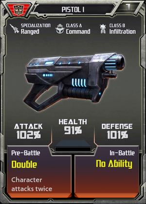 (Autobots) Pistol I