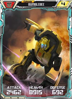 Bumblebee 4 Robot