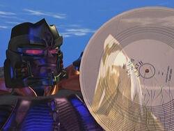 Megatron GoldenDisk