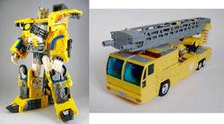 Universe RID OptimusPrime toy