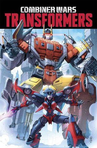 File:Transformers; Combiner Wars Comic Volume.jpg
