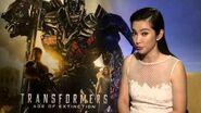 "Transformers 4 Age of Extinction Li BingBing ""Su Yueming"" Official Movie Interview"