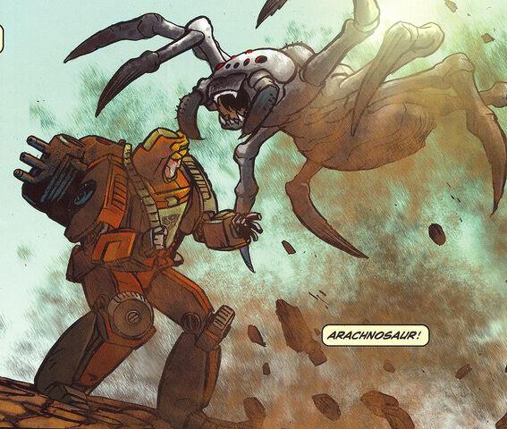 File:Idw-arachnosaur-comic-spotlightwheelie-1.jpg