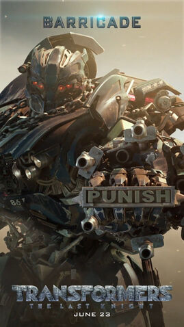 File:Transformers 5 Barricade Poster.jpg
