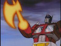 G1 Prime energon-axe