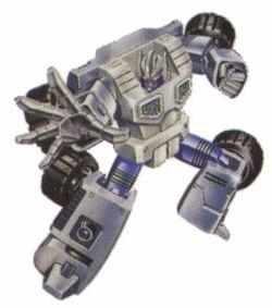 Barrage(Autobot) cardart