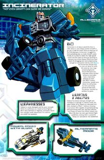 5418 Blurr Incinerator Dreamwave Profile