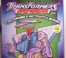 Transformers Armada Coloring and Activity Book (Джетсторм)