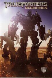Transformers Beginnings poster