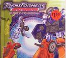 Transformers Armada Sticker Book (Миниконы)