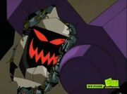 Blitzwing has a hole in him