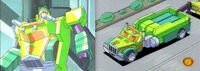 RID Towline botvehicle cartoon