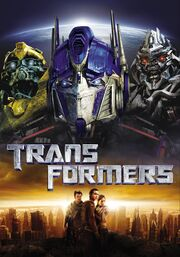 Transformers cover background