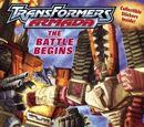 Transformers Armada: The Battle Begins
