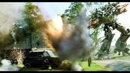 Transformers 4 Age of Extinction - First Full Fight Scene HD