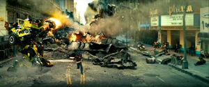 Movie Ratchet Ironhide runSam