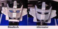 Binaltech Alternator Wheeljack Retool