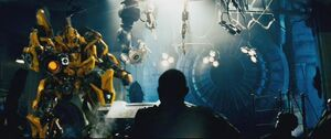 Movie Bumblebee cannon