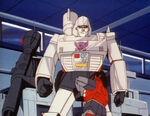 TransporttoOblivion Cliffjumper attacks Megatron