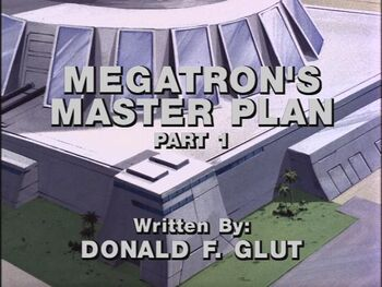 Megatron's Master Plan 1 title shot