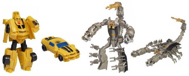 File:Movie Legends Bumblebee Scorponok toys.jpg