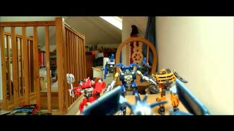 Transformers Stop Motion Test Scene Part 3