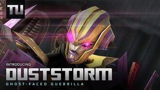Decepticon Duststorm - Transformers Universe Game