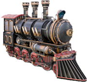 Decapod locomotive