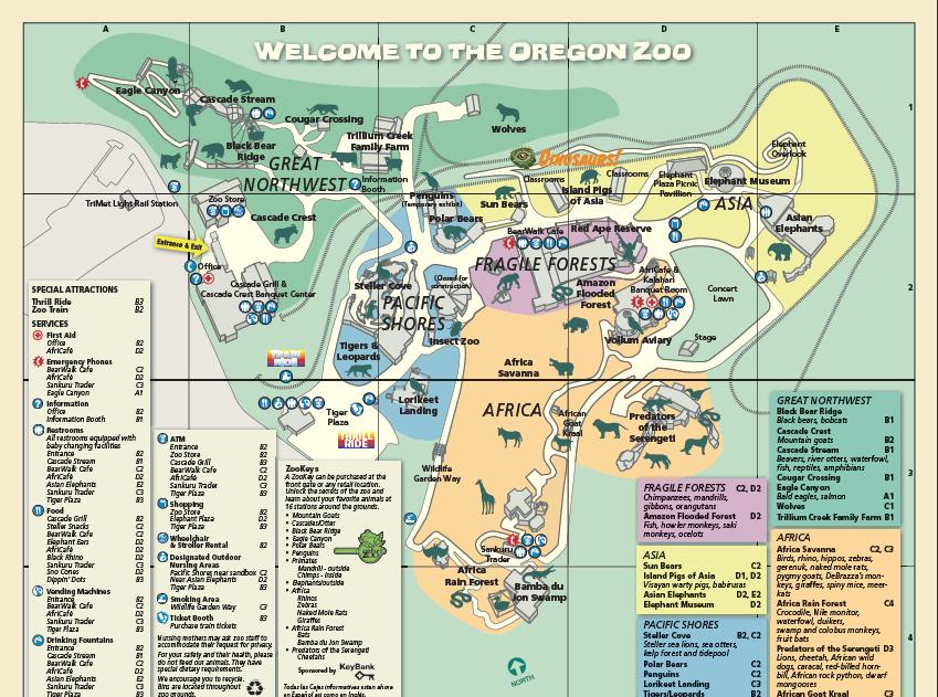 Oregon Zoo Wikia Travel Fandom Powered By Wikia