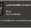 Lydia Schaffen Crossroads