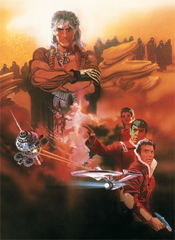002-the wrath of khan poster art