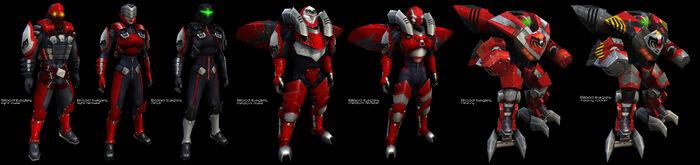 Blood Eagles Armors