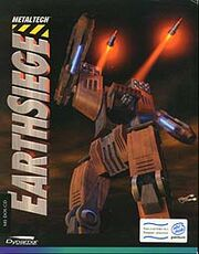 Earthsiege box art