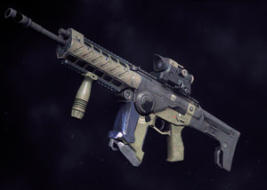 Light assault rifle pathfinder
