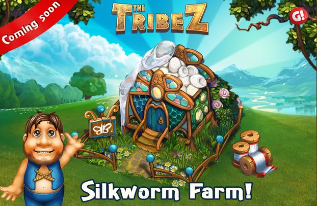 Silkworm farm update tribez