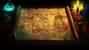 Forsaken Dungeons Map