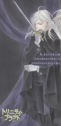 Virgil W color manga