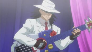 Gajeel-with-a-guitar